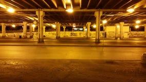 Κίτρινη νύχτα Στοκ φωτογραφία με δικαίωμα ελεύθερης χρήσης