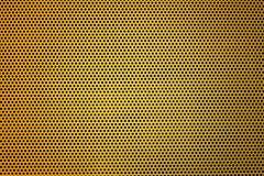 Κίτρινη πολτοποίηση μετάλλων Στοκ Εικόνες