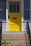 Κίτρινη πόρτα Στοκ Φωτογραφία