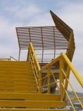 Κίτρινη σκάλα σε Miraflores, Λίμα, Περού Στοκ Φωτογραφία