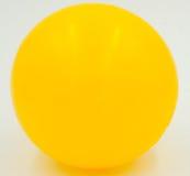 Κίτρινη σφαίρα Στοκ εικόνα με δικαίωμα ελεύθερης χρήσης