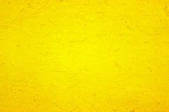 Κίτρινη σύσταση εγγράφου για το υπόβαθρο Στοκ εικόνες με δικαίωμα ελεύθερης χρήσης