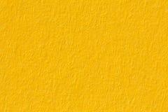 Κίτρινη σύσταση εγγράφου, μακρο πυροβολισμός Στοκ εικόνα με δικαίωμα ελεύθερης χρήσης