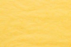Κίτρινη σύσταση εγγράφου μουριών Στοκ Φωτογραφίες