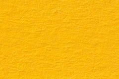 Κίτρινη σύσταση εγγράφου χρήσιμη ως υπόβαθρο Στοκ εικόνες με δικαίωμα ελεύθερης χρήσης