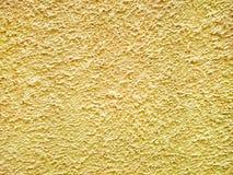 Κίτρινη σύσταση τσιμέντου Στοκ φωτογραφίες με δικαίωμα ελεύθερης χρήσης
