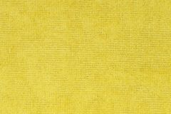 Κίτρινη σύσταση υφάσματος Στοκ φωτογραφία με δικαίωμα ελεύθερης χρήσης