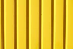Κίτρινη σύσταση metall Στοκ Φωτογραφία