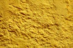 Κίτρινη υπόβαθρο ή σύσταση τοίχων χρωμάτων στοκ εικόνες