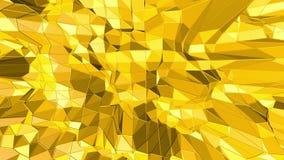 Κίτρινη χαμηλή πολυ ταλάντευση υποβάθρου Αφηρημένη χαμηλή πολυ επιφάνεια ως αφηρημένο περιβάλλον στο μοντέρνο χαμηλό πολυ σχέδιο διανυσματική απεικόνιση