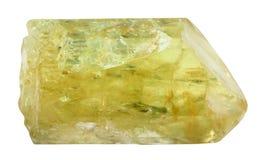 Κίτρινη Apatite χρυσή Apatite πέτρα Στοκ εικόνες με δικαίωμα ελεύθερης χρήσης