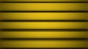 Κίτρινη polygonal γεωμετρική επιφάνεια Ο υπολογιστής παρήγαγε το άνευ ραφής υπόβαθρο κινήσεων βρόχων αφηρημένο για το διάστημα αν απεικόνιση αποθεμάτων