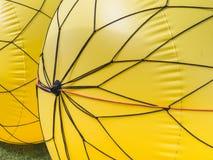 Κίτρινος αγώνας σημαντήρων Στοκ Φωτογραφίες