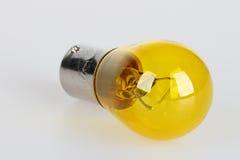 Κίτρινος βολβός για το αυτοκίνητο στοκ φωτογραφίες με δικαίωμα ελεύθερης χρήσης