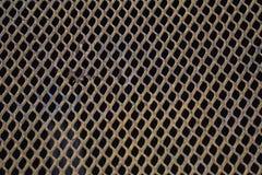 Κίτρινος γραφικός πόρος ταπετσαριών υποβάθρου χάλυβα καγκέλων Στοκ Εικόνες