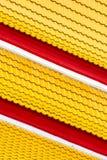 Κίτρινος και κόκκινος στοκ εικόνα