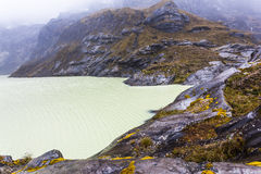 Κίτρινος κρατήρας λιμνοθαλασσών στοκ φωτογραφίες με δικαίωμα ελεύθερης χρήσης