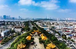 Κίτρινος πύργος γερανών σε Wuhan Στοκ φωτογραφία με δικαίωμα ελεύθερης χρήσης