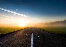 Κίτρινος δρόμος τούβλου στοκ φωτογραφία με δικαίωμα ελεύθερης χρήσης