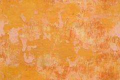 Άνευ ραφής σύσταση - τοίχος με τις ρωγμές και το χρώμα αποφλοίωσης Στοκ Φωτογραφία