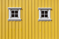 Κίτρινος τοίχος Στοκ εικόνα με δικαίωμα ελεύθερης χρήσης