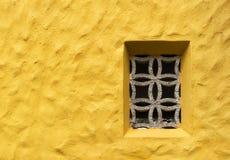 Κίτρινος τοίχος Στοκ εικόνες με δικαίωμα ελεύθερης χρήσης