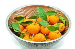 Κίτρινος του πορτοκαλιού από την κινεζική χώρα Στοκ Εικόνες