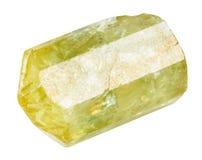 Κίτρινος Apatite χρυσός Apatite πολύτιμος λίθος Στοκ φωτογραφία με δικαίωμα ελεύθερης χρήσης