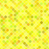 Κίτρινο άνευ ραφής διαγώνιο τετραγωνικό σχέδιο υποβάθρου σχεδίων Στοκ εικόνες με δικαίωμα ελεύθερης χρήσης