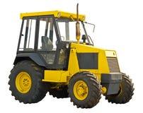 Κίτρινο αγροτικό τρακτέρ Στοκ Εικόνες