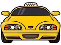 Κίτρινο αμάξι Στοκ φωτογραφία με δικαίωμα ελεύθερης χρήσης