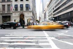 Κίτρινο αμάξι Στοκ Φωτογραφίες