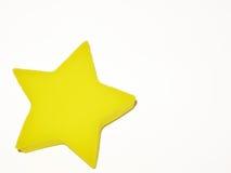 Κίτρινο αστέρι Στοκ εικόνες με δικαίωμα ελεύθερης χρήσης