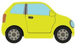 Κίτρινο αυτοκίνητο απεικόνιση αποθεμάτων