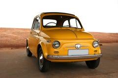 Κίτρινο αυτοκίνητο. στοκ εικόνες