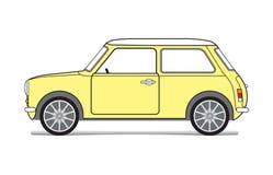 Κίτρινο αυτοκίνητο Στοκ φωτογραφίες με δικαίωμα ελεύθερης χρήσης