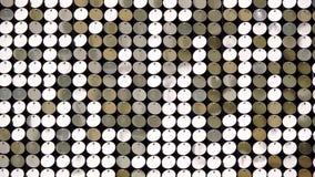 Κίτρινο αφηρημένο υπόβαθρο σφαιρών απεικόνιση αποθεμάτων
