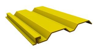 Κίτρινο βινυλίου να πλαισιώσει Στοκ Εικόνες