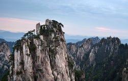 Κίτρινο βουνό βουνών Huangshan στην επαρχία Anhui, Κίνα Στοκ εικόνες με δικαίωμα ελεύθερης χρήσης