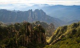 Κίτρινο βουνό (Huang Shan) Στοκ Εικόνες