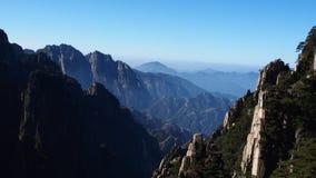 Κίτρινο βουνό (Huang Shan) Στοκ εικόνα με δικαίωμα ελεύθερης χρήσης