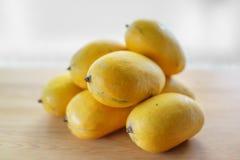 Κίτρινο γλυκό Manggo Στοκ φωτογραφία με δικαίωμα ελεύθερης χρήσης