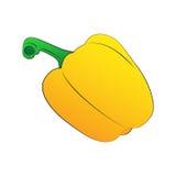 Κίτρινο γλυκό πιπέρι Στοκ εικόνα με δικαίωμα ελεύθερης χρήσης