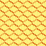 Κίτρινο εκλεκτής ποιότητας γεωμετρικό σχέδιο βημάτων διανυσματική απεικόνιση