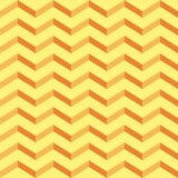 Κίτρινο εκλεκτής ποιότητας γεωμετρικό σχέδιο Στοκ Φωτογραφία