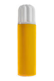 Κίτρινο εμπορευματοκιβώτιο πίεσης Στοκ φωτογραφία με δικαίωμα ελεύθερης χρήσης