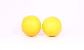 Κίτρινο λεμόνι Στοκ Εικόνα