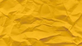 Κίτρινο θρυμματισμένο έγγραφο Στοκ Εικόνες