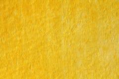 Κίτρινο και χρυσό υπόβαθρο watercolor στενό έγγραφο ανασκόπησης που αυξάνεται Backgro Στοκ Φωτογραφίες
