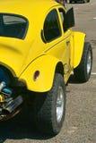 Κίτρινο καυτό αυτοκίνητο ράβδων στοκ εικόνες
